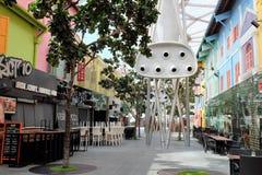 Singapur Clarke Quay Fotografia Royalty Free
