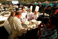 Singapur: Competencia de la comida Imágenes de archivo libres de regalías