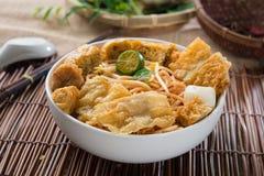 Singapur curry'ego kluski Zdjęcie Stock