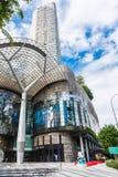 SINGAPUR, CZERWIEC - 18: Dnia widok jonu sadu zakupy centrum handlowego onJU Obraz Stock