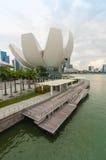 Singapur, Czerwiec - 13,2014: Marina Podpalani piaski Hotelowi Jeden mo Obraz Stock