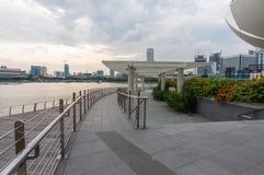 Singapur, Czerwiec - 13,2014: Marina Podpalani piaski Hotelowi Jeden mo Obraz Royalty Free