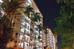 Singapur Dakota mieszkania państwowego nieruchomość Obraz Stock