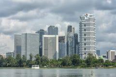 Singapur - 18 de junio de 2018: Architectual Beaty en diversas formas foto de archivo libre de regalías