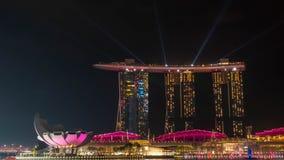 SINGAPUR, AM 22. DEZEMBER 2017: Stadtbild von Singapur-Skylinen an Lizenzfreie Stockfotografie