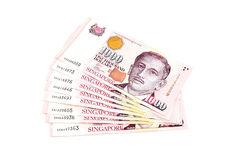 Singapur dolary fotografia royalty free