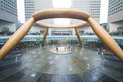 SINGAPUR, EL 13 DE OCTUBRE DE 2015: la fuente de la riqueza ha sido de registro Fotos de archivo