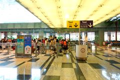 Singapur: El ir a casa Foto de archivo