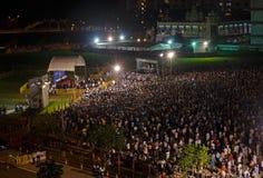 Singapur elecciones para un cargo desocupado enero de 2013 Fotografía de archivo libre de regalías
