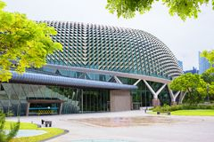 Singapur Esplanada teatr Obrazy Stock