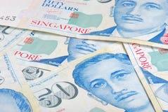 Singapur fünfzig Dollar Lizenzfreies Stockbild