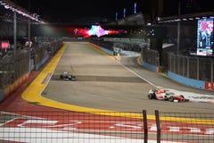 Singapur F1 Zdjęcia Stock