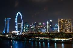 2017-07-15 Singapur fajerwerków pokaz Fotografia Stock