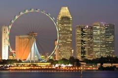 Singapur-Flugblatt Stockfoto