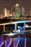 Singapur-Flugblatt stockfotos