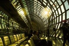 Singapur-Flughafen Stockfoto
