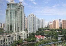 Singapur-Fluss Stockbilder