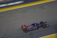 Singapur formuły 1 Kwalifikacyjna rasa Zdjęcie Stock