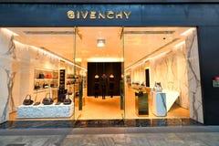 Singapur: Givenchy Lizenzfreie Stockfotos