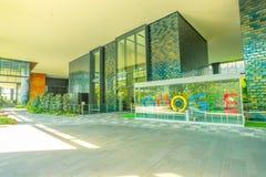 Singapur Google Hauptquartier stockbilder