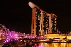 Marina Podpalany piasek, Singapur Fotografia Stock
