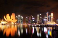 Marina Podpalany piasek, Singapur Obraz Royalty Free