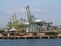 Singapur-Hafen Stockfoto
