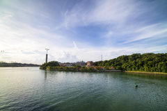 Singapur Harbourfront Obraz Royalty Free