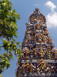Singapur - Hinduska Świątynia Zdjęcia Stock