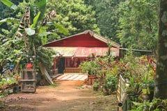 Singapur, hogares del ubin del pulau Foto de archivo
