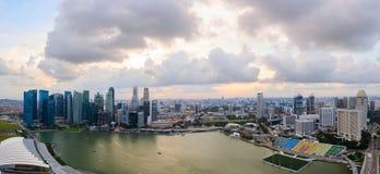 Singapur im Stadtzentrum gelegen Lizenzfreies Stockfoto