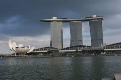 singapur Jachthafen-Bucht stockbild