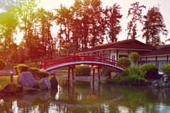 Singapur-Japaner-Garten Lizenzfreies Stockfoto