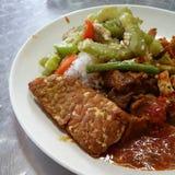 Singapur jedzenie Zdjęcie Stock