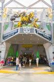 SINGAPUR - JULIO 20,2015: TRANSFORMADORES el paseo: Los últimos 3 Imagen de archivo libre de regalías