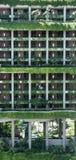 SINGAPUR 3. JUNI 2017: PARKROYAL-Hotelfassade in Singapur stockbild