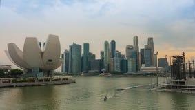 Singapur - junio 13,2014: Marina Bay Sands Hotel Uno del MES fotografía de archivo