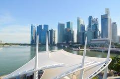 Singapur, Kwiecień 2017: Środkowy Pieniężny okręg Singapur obrazy royalty free
