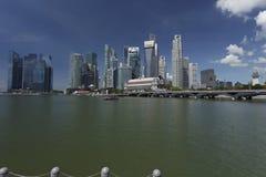 Singapur, Kwiecień 01, 2012: Biznesowy biuro Góruje Zdjęcie Royalty Free