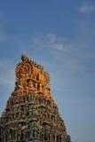 Singapur, la poca India, templo de Sri Perumal Foto de archivo libre de regalías