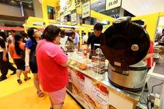 Singapur: Lebensmittel angemessen bei Takashimaya Stockfotografie