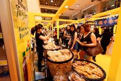 Singapur: Lebensmittel angemessen bei Takashimaya Lizenzfreie Stockfotos