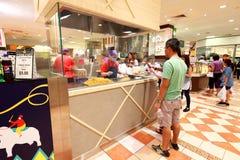 Singapur: Lebensmittelgeschäft bei Takashimaya B2 Lizenzfreies Stockbild