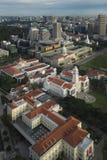 Singapur Singapur, Listopad, - 23, 2017: Widok Z Lotu Ptaka Singapur Obywatelski okręg Zdjęcie Stock