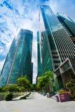 Miastowy krajobraz Singapur Zdjęcie Royalty Free