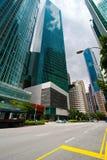 Miastowy krajobraz Singapur Fotografia Royalty Free