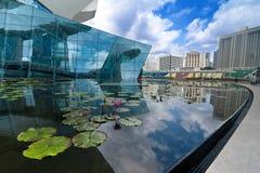 Miastowy krajobraz Singapur Obrazy Royalty Free