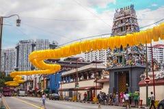 Chinese- und Hindokultur Stockbild