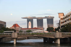 Singapur Marina Bay Sands Stockbild