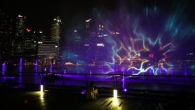 Singapur Marina Fountains metrajes